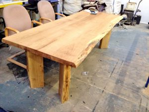 Oak Table Made With Timports Timber