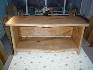 Oak Side Board