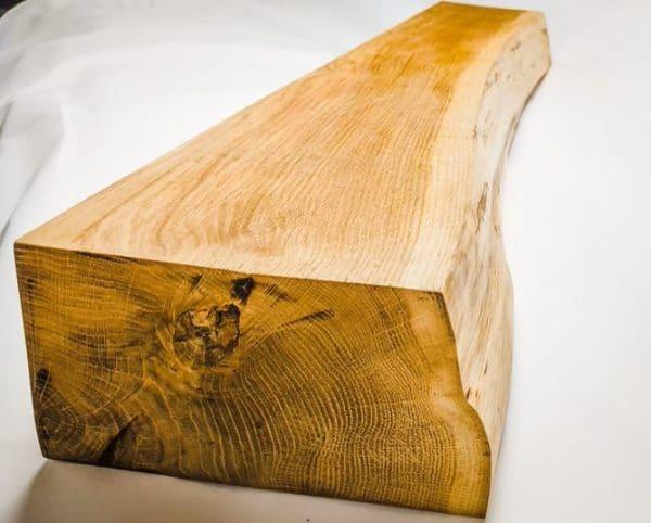 Waney Edge Oak Beam Without Bark